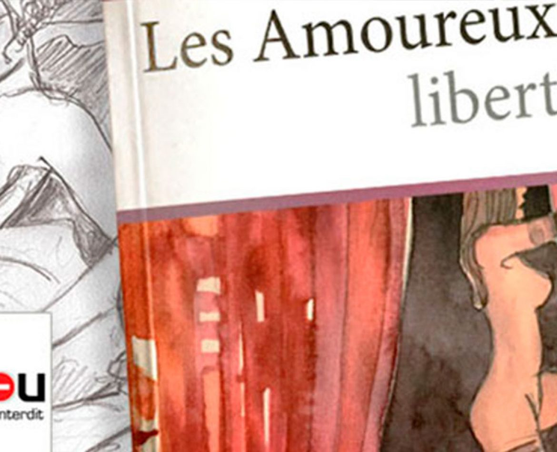 Les Amoureux Libertins au salon Livre Paris 2018